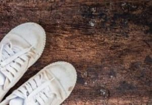 How to Get Blood Out of White Shoes